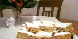 Karácsonyi Stollen süti