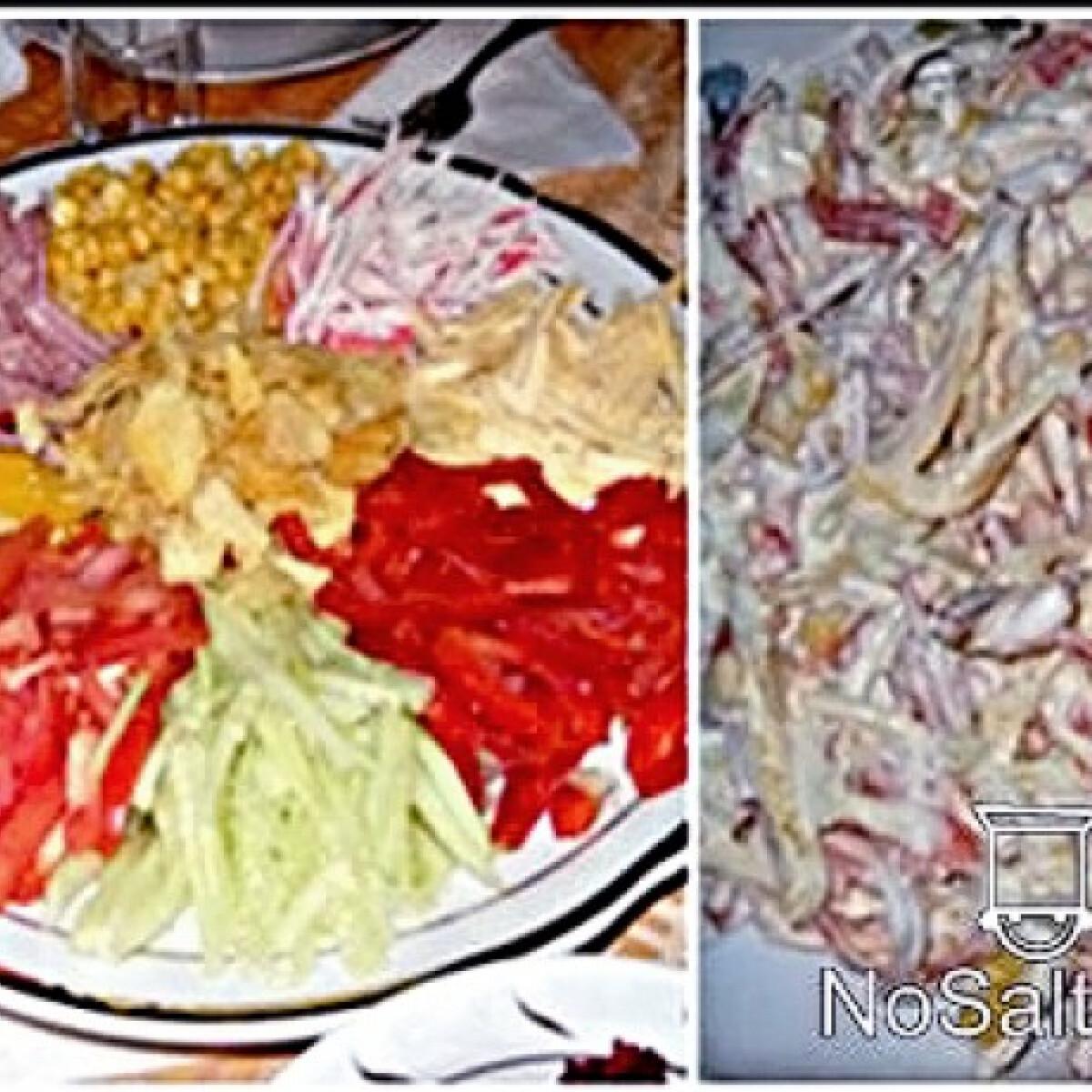 Ezen a képen: Vegyes-saláta