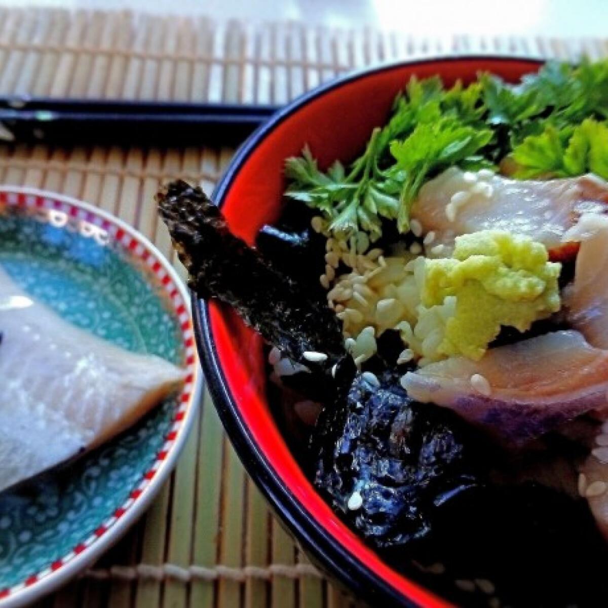 Ezen a képen: Ochazuke - japán komfortkaja