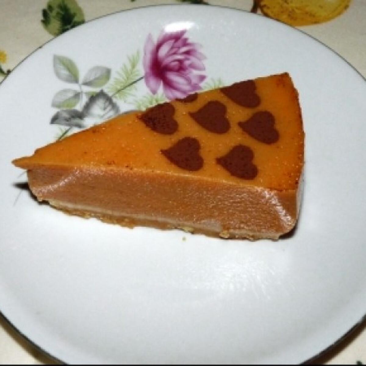 Gluténmentes tökös torta
