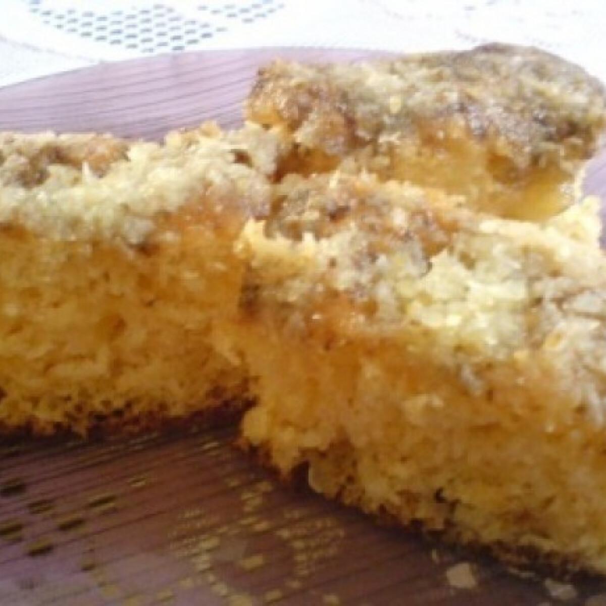 Ezen a képen: Ananászos süti
