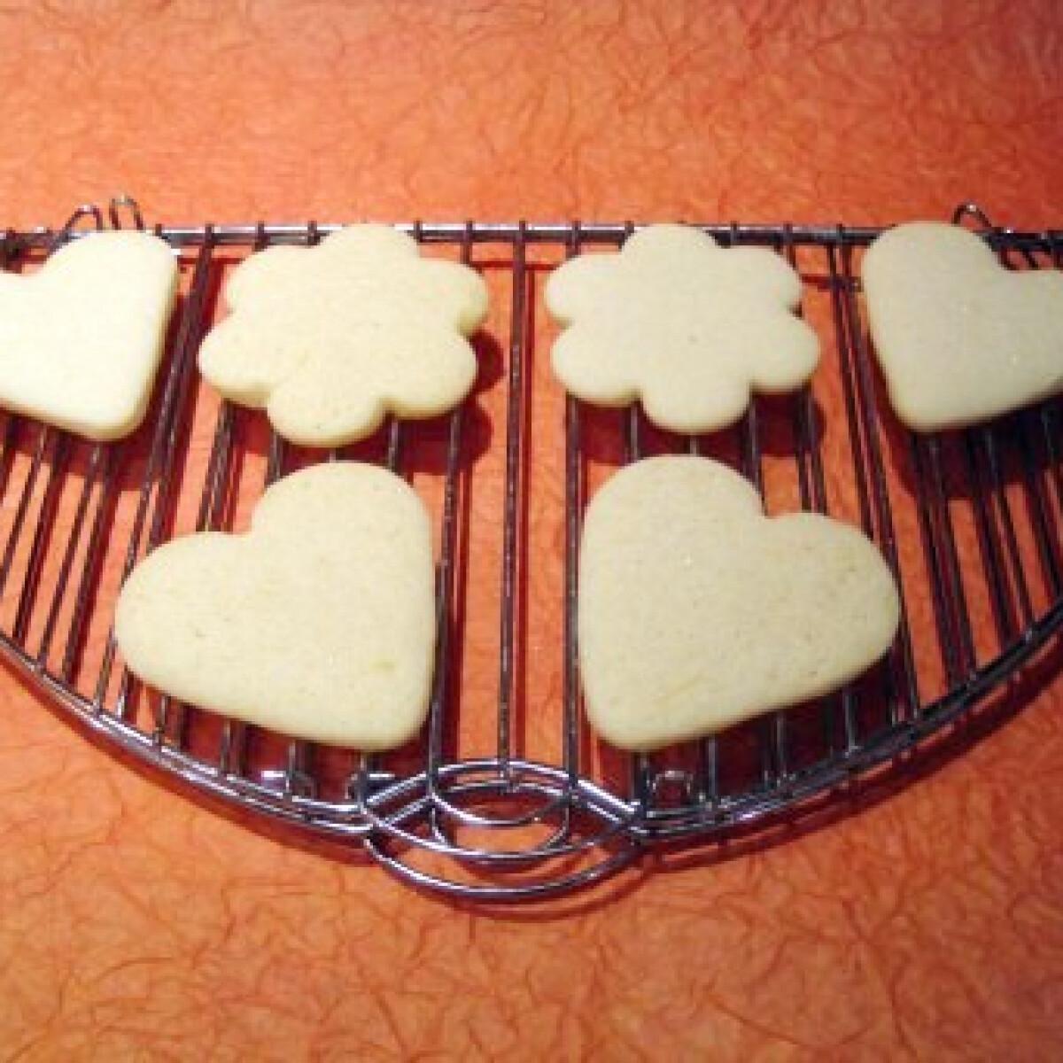 Ezen a képen: Vaníliás keksz Katharosz konyhájából