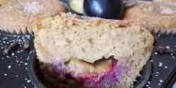 Fűszeres-szilvás muffin