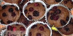 Szedres muffin Kicsia konyhájából