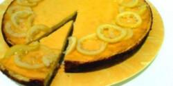 Citromos ricottakrém torta