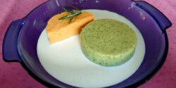 Brokkoli- és sárgarépapuding