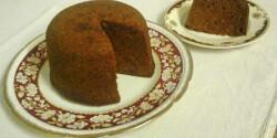 Angol fügés pudding