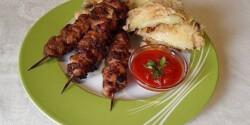 Teriyaki csirkenyárs zöldségtempurával