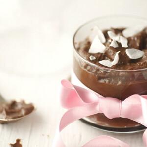 Avokádós csokimousse