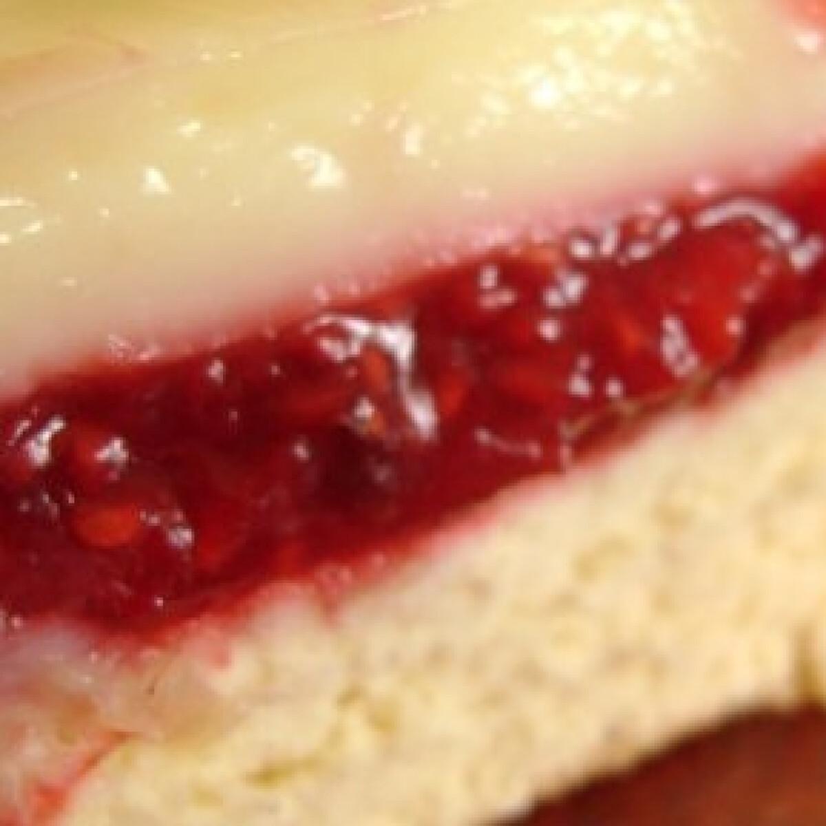 Málnás-vaníliás süti