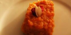 Édes sárgarépapüré
