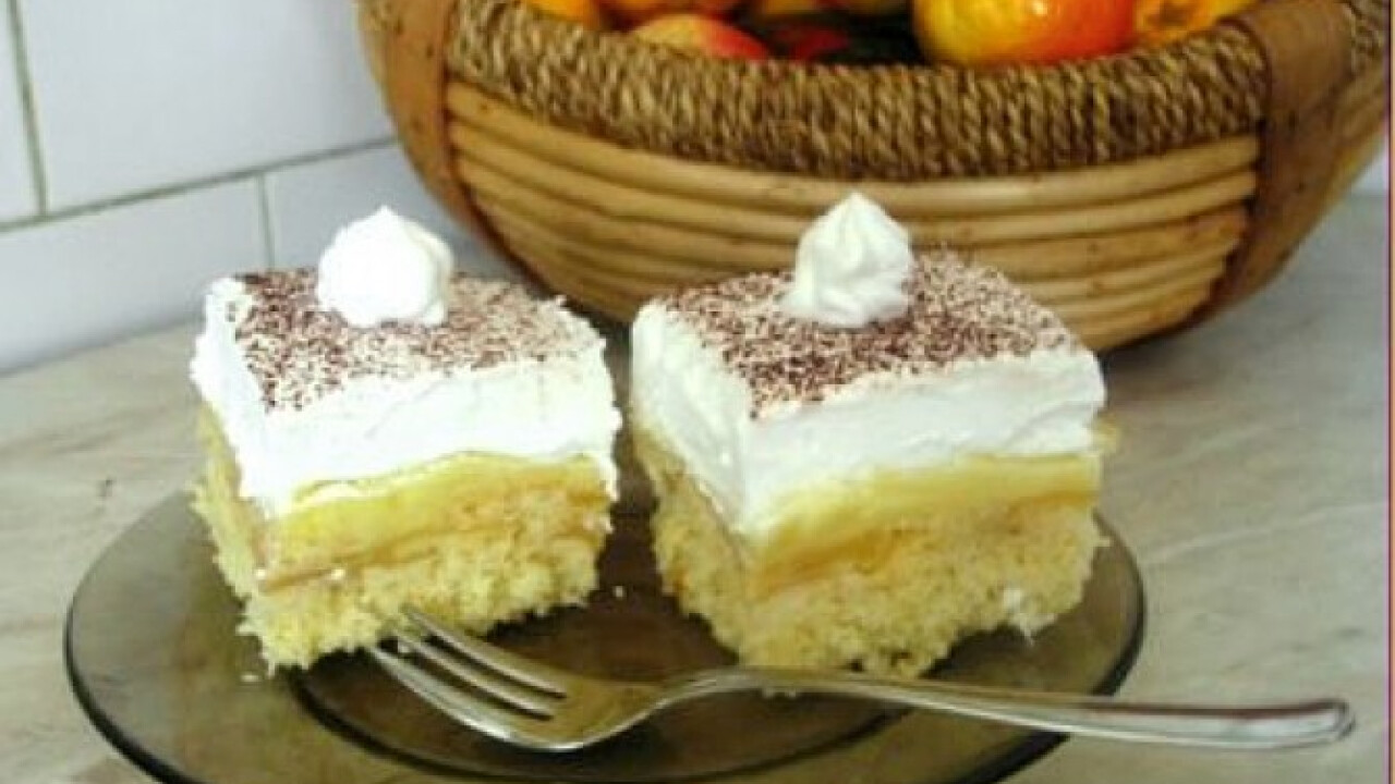 Habos-pudingos süti Gabys konyhájából
