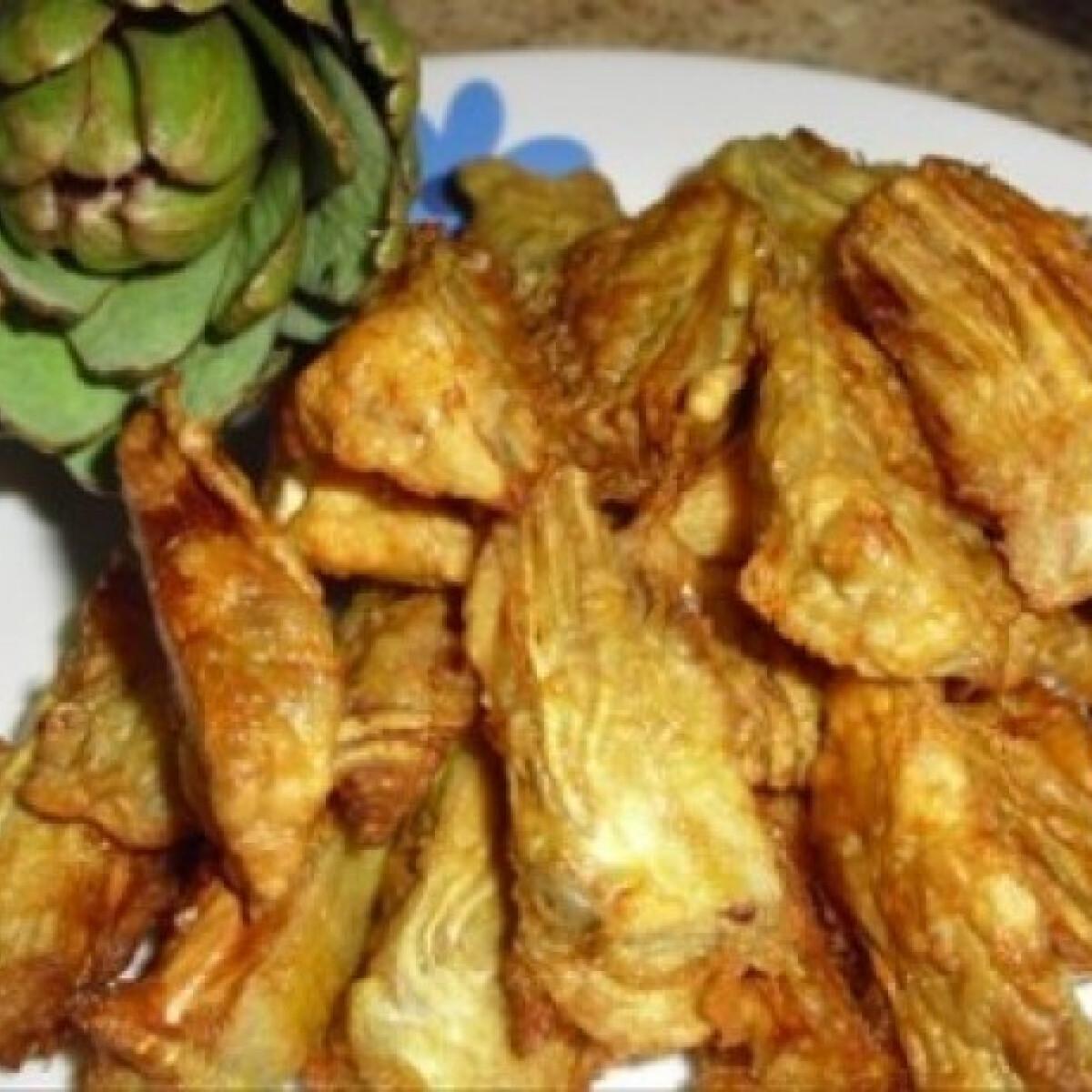 Ezen a képen: Olajban sült articsóka
