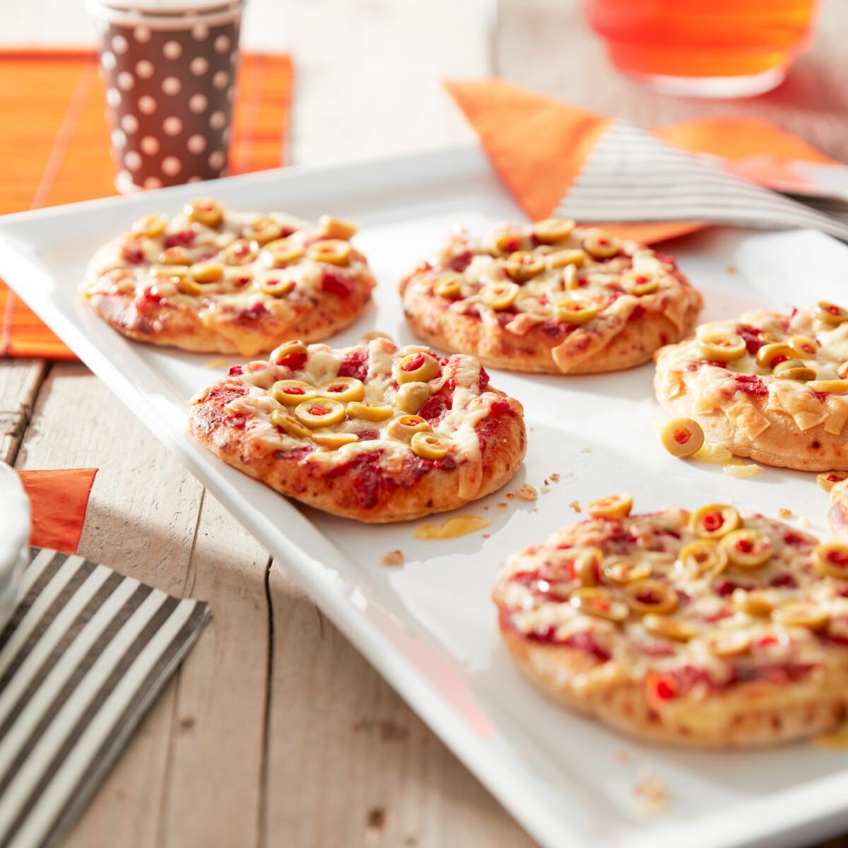 Mini pizza Philips Airfryerben készítve