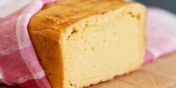 Kukoricás kenyér Szisszi konyhájából