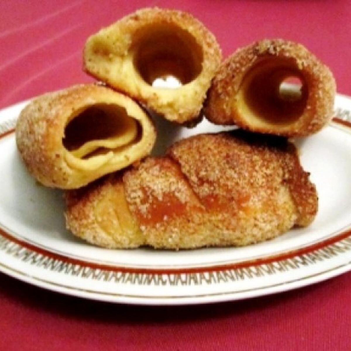 Ezen a képen: Mini kürtőskalács Olgis konyhájából