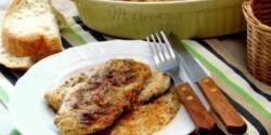 Csirkemell fűszeres-tejszínes mártásban