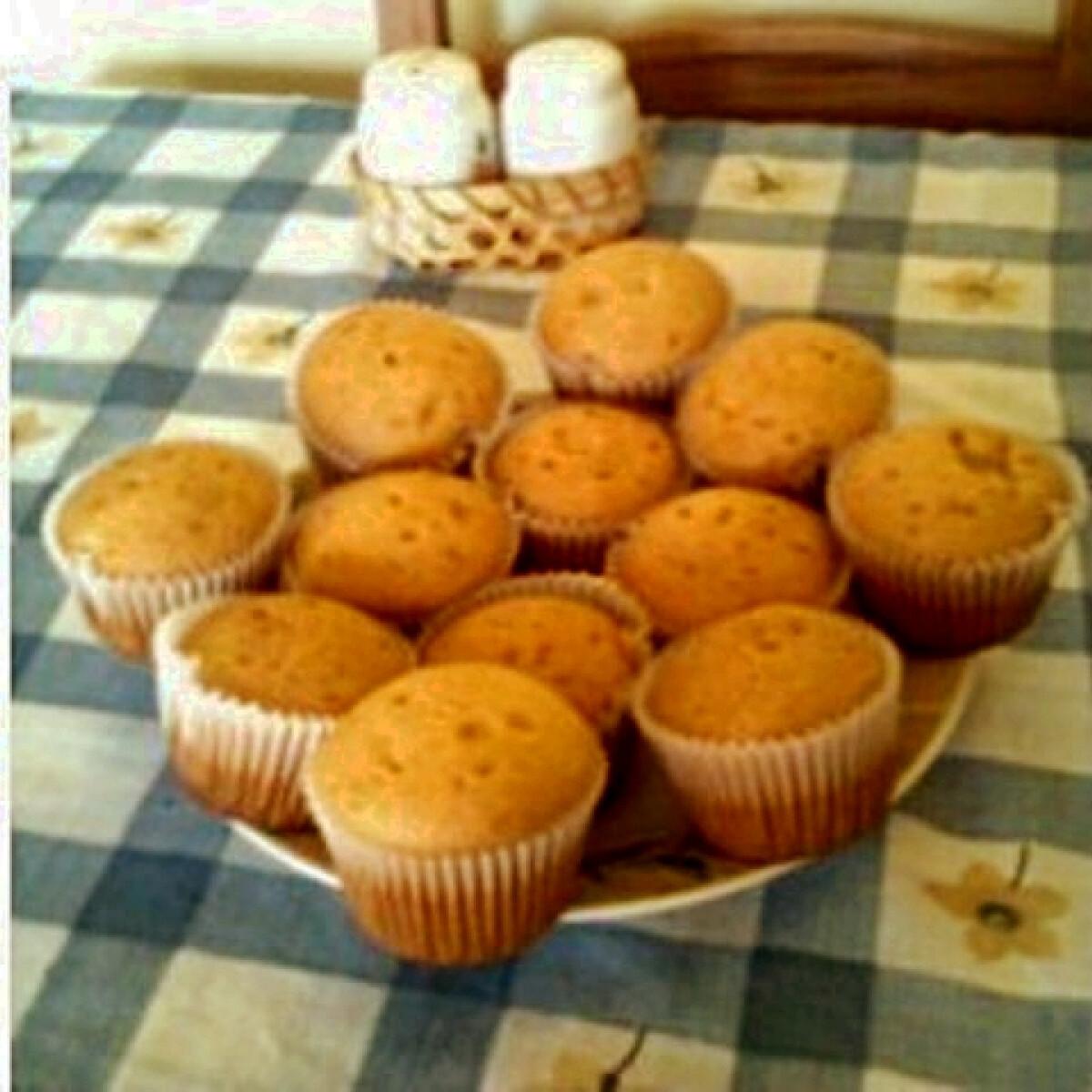 Ezen a képen: Citromos muffin Bendika konyhájából