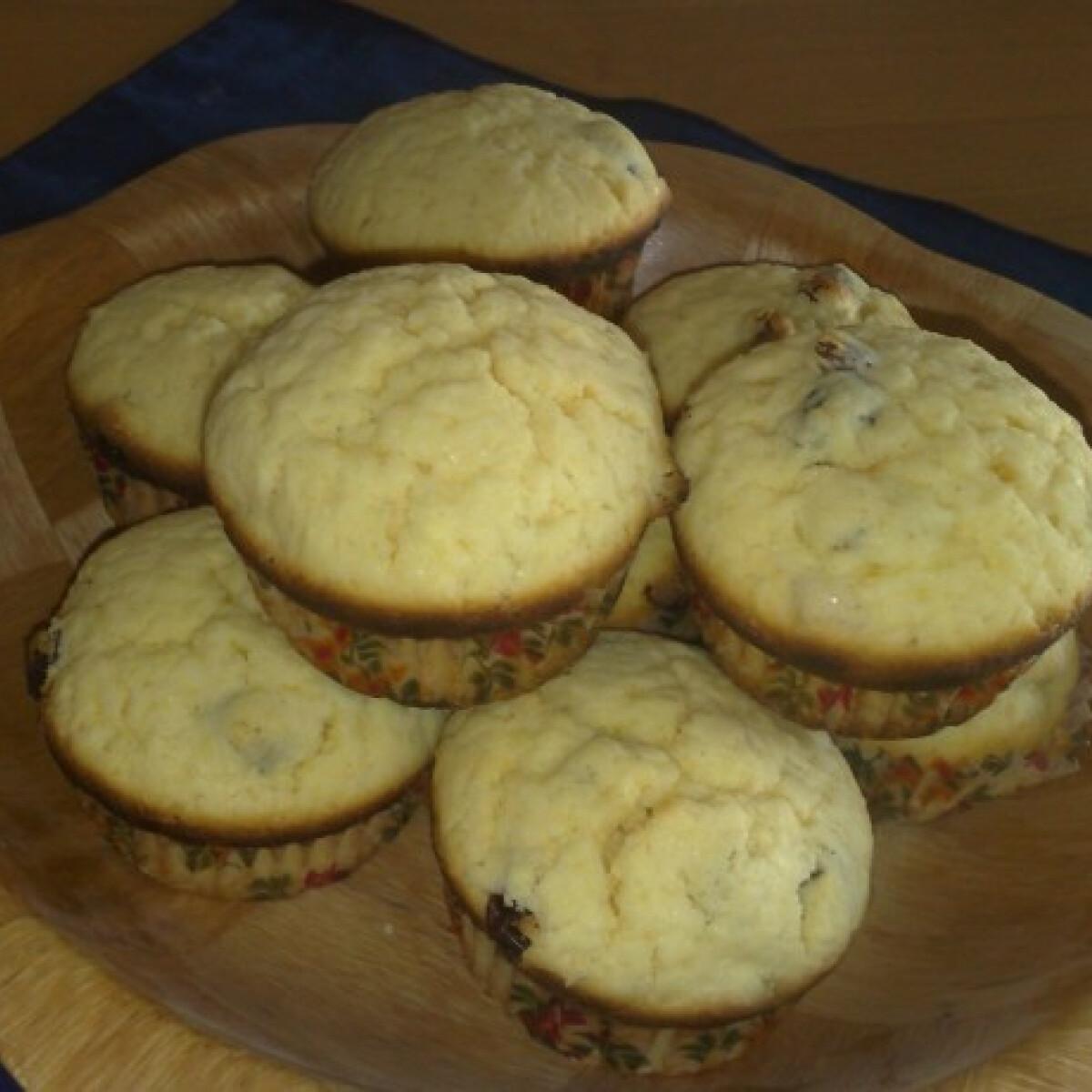 Ezen a képen: Citromos muffin gluténmentesen