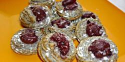 20 perces meggyes-mákos kekszhalmok