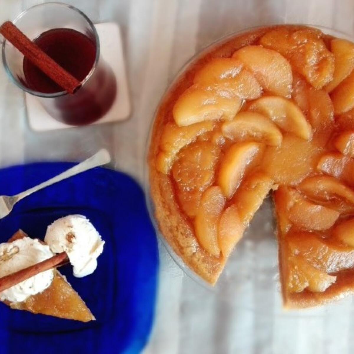 Ezen a képen: Tarte Tatin Süti MáMohr konyhájából