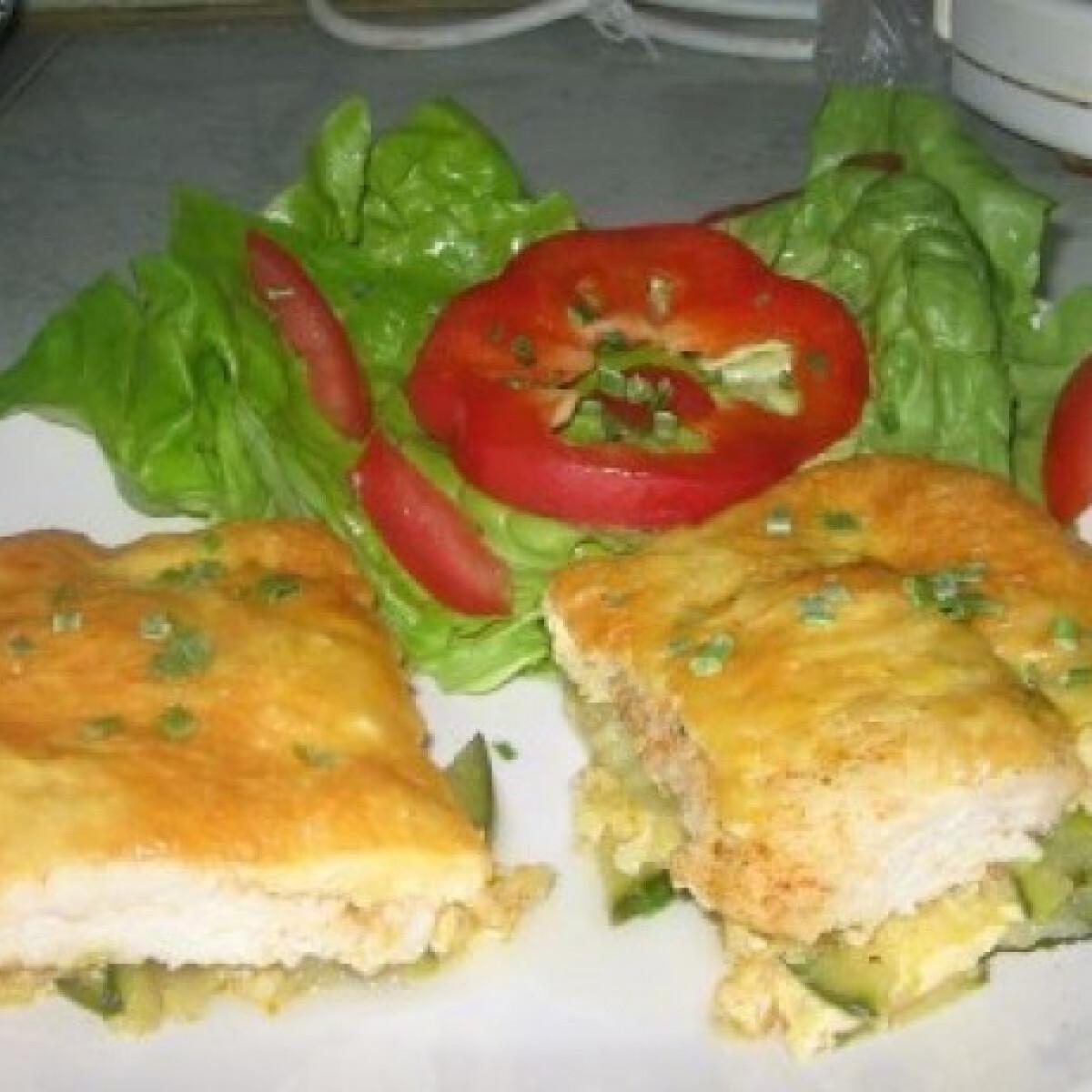 Cukkinis csirkemell - Csóti Heni konyhájából