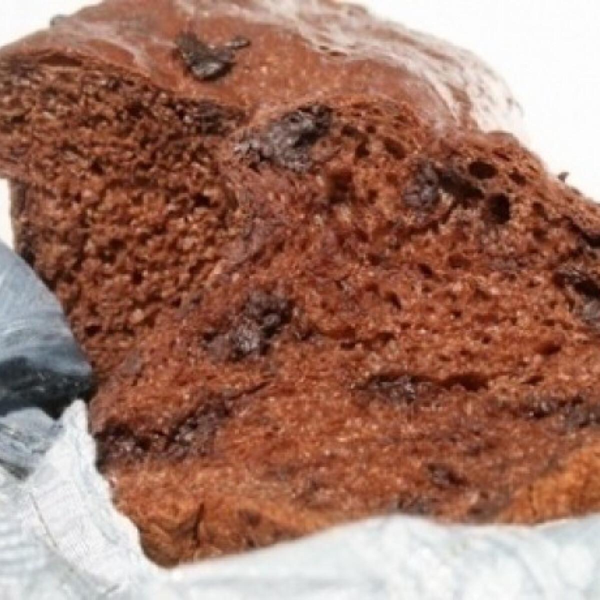 Ezen a képen: Csokis panettone