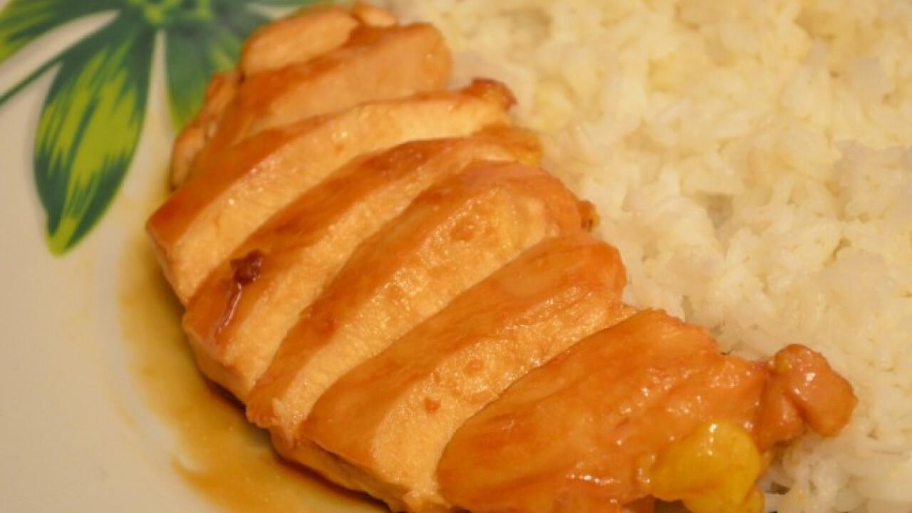 Teriyaki szószos csirke