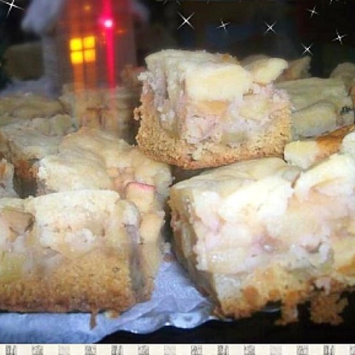 Ezen a képen: Almás pite Habcsók Mézitől