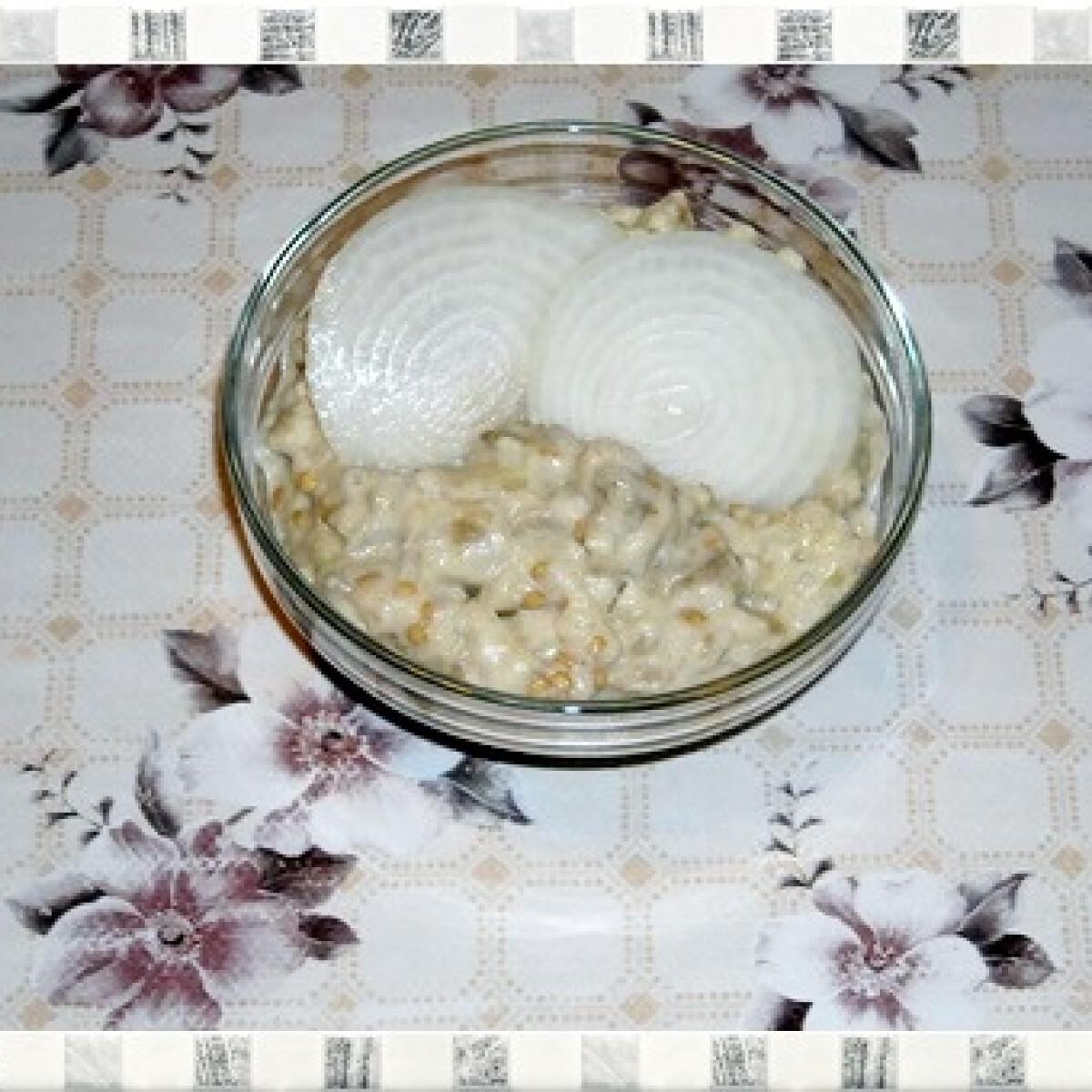 Ezen a képen: Padlizsánkrém Nikóka konyhájából