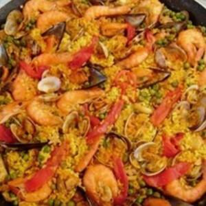 Paella tenger gyümölcsei