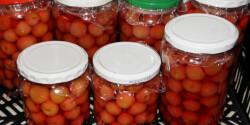 Legegyszerűbb cseresznyebefőtt eltevése