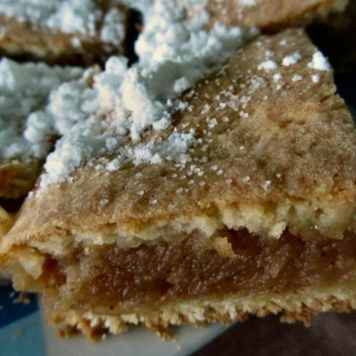 Almás pite Purpur konyhájából