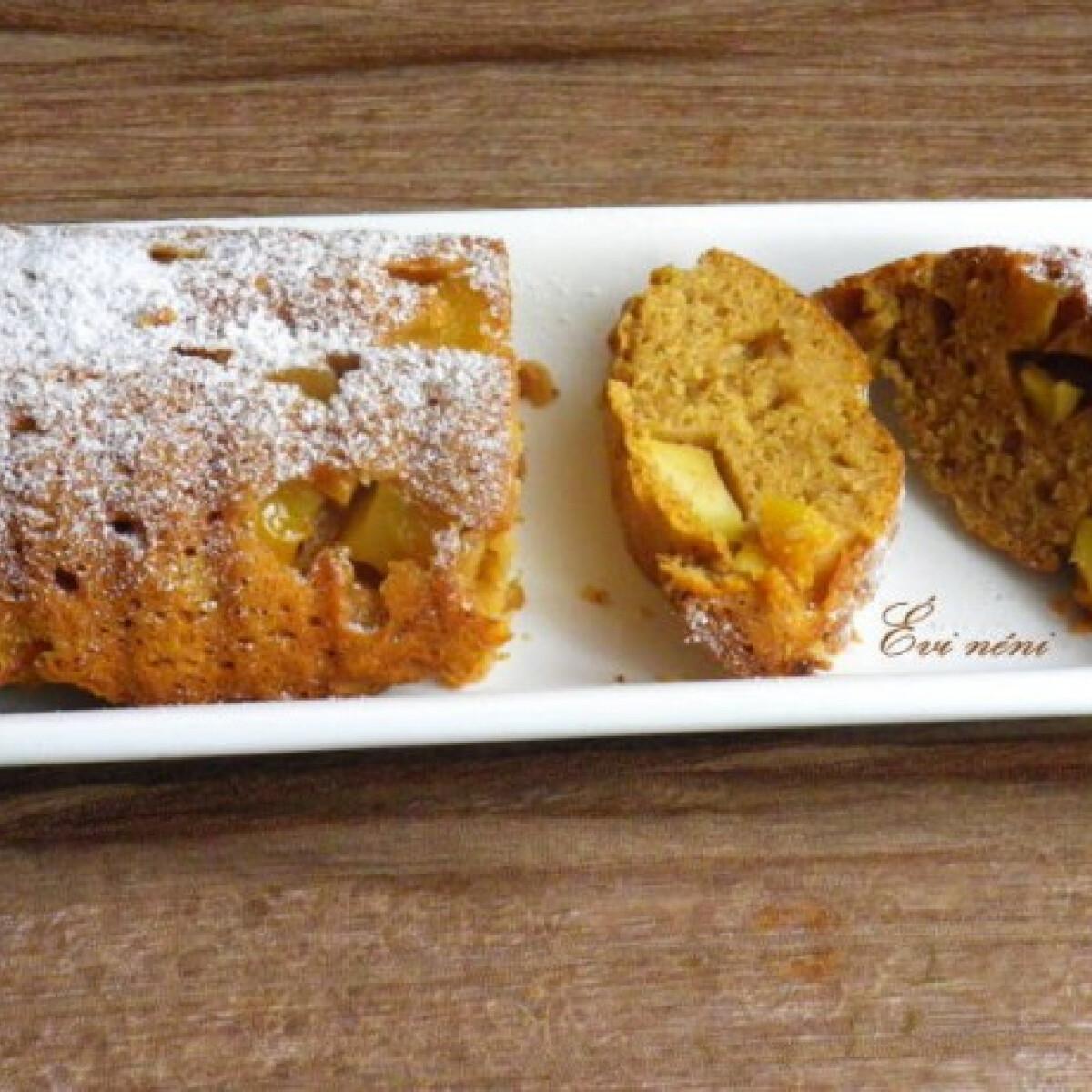 Ezen a képen: Almás őzgerinc sütemény