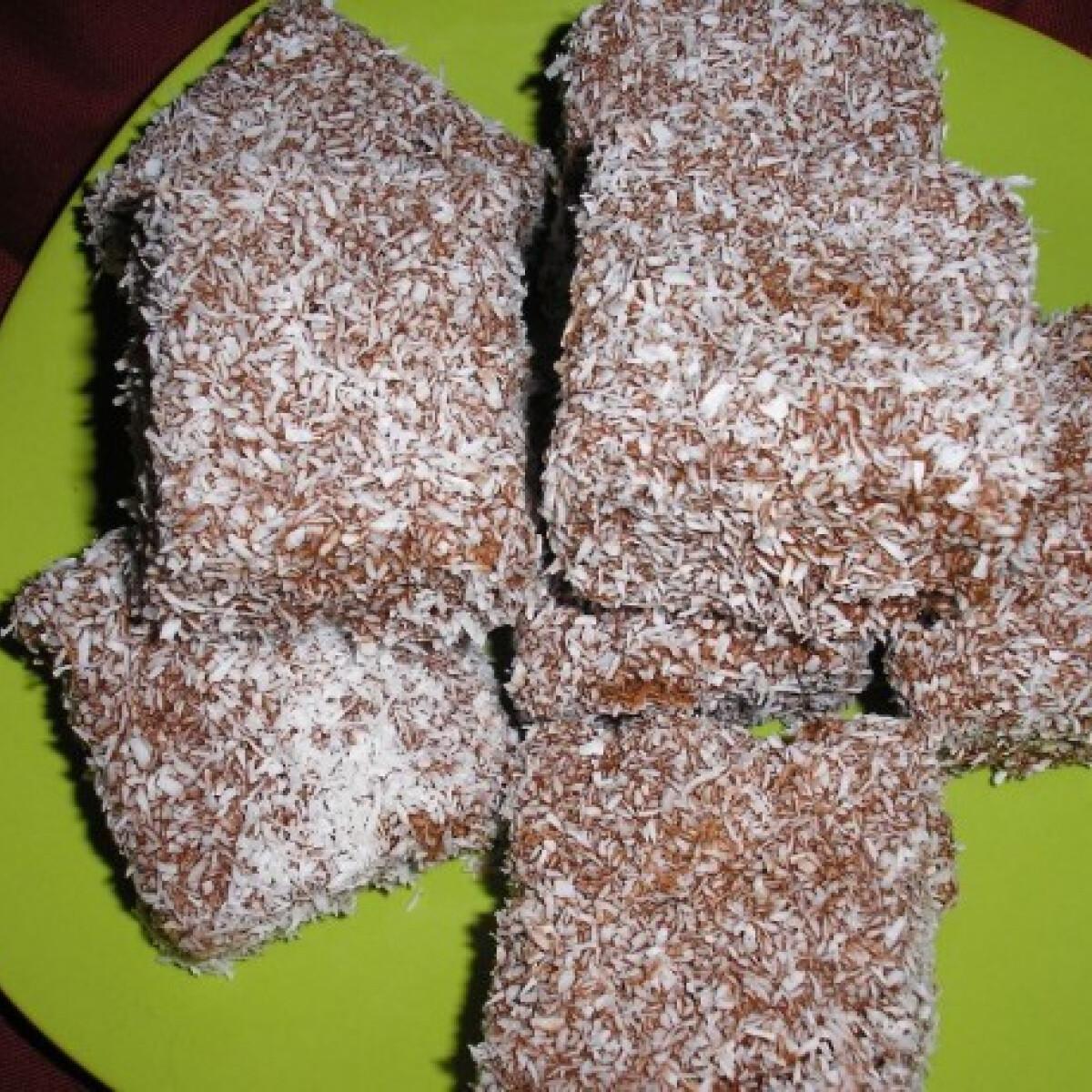 Csokis kókuszos kocka