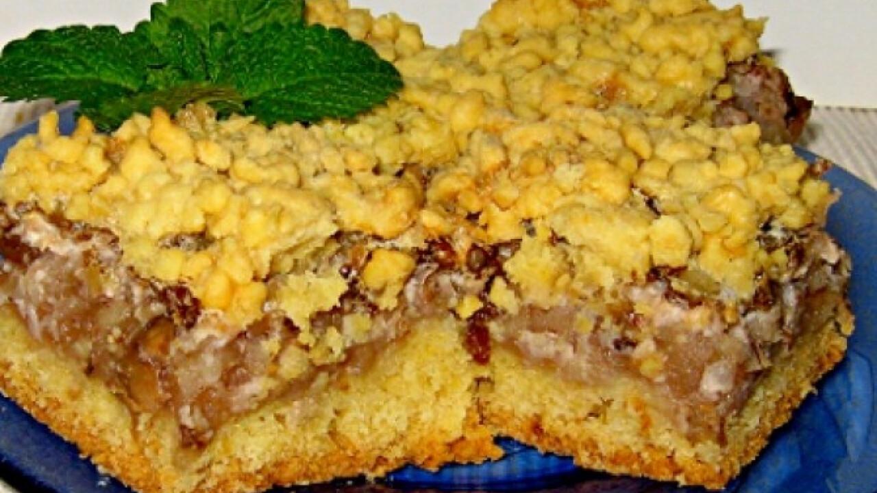 Almás-diós süti Marcsisef konyhájából