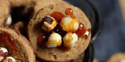 Mogyoróvajas keksz sós karamellel