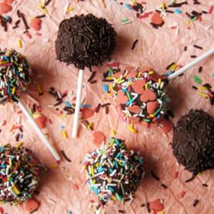 Nutellás cake pops