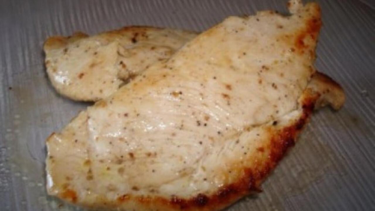 Citromos-korianderes csirkemell