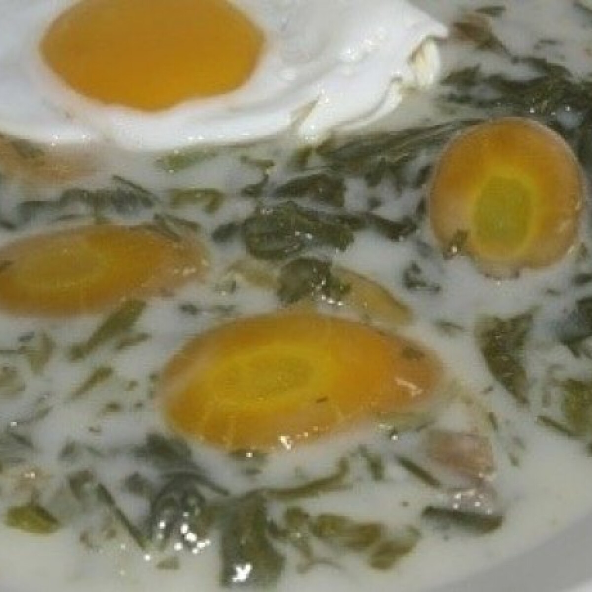 Ezen a képen: Sárgarépás mángold főzelék