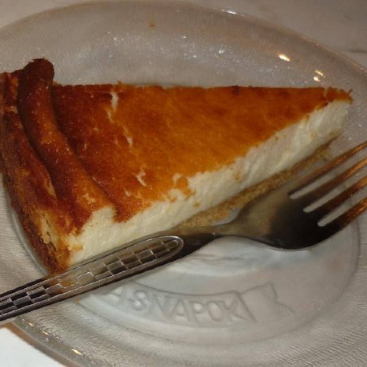 Olasz sajttorta