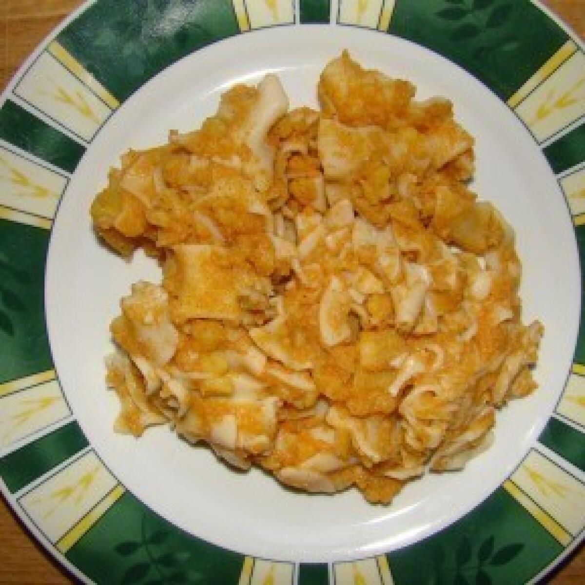 Ezen a képen: Krumplis tészta 6. - paradicsommal és paprikával