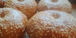 Kovászos bagel