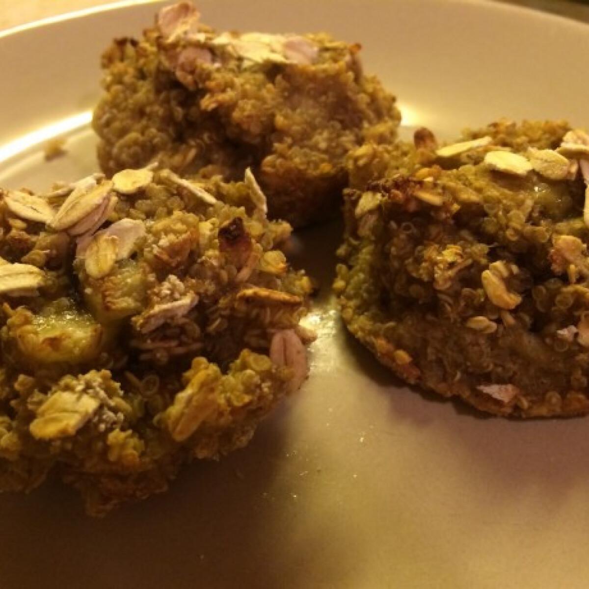 Almás-banános quinoa falatkák