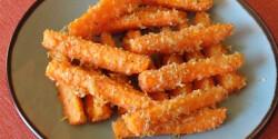 Parmezános sült sárgarépa