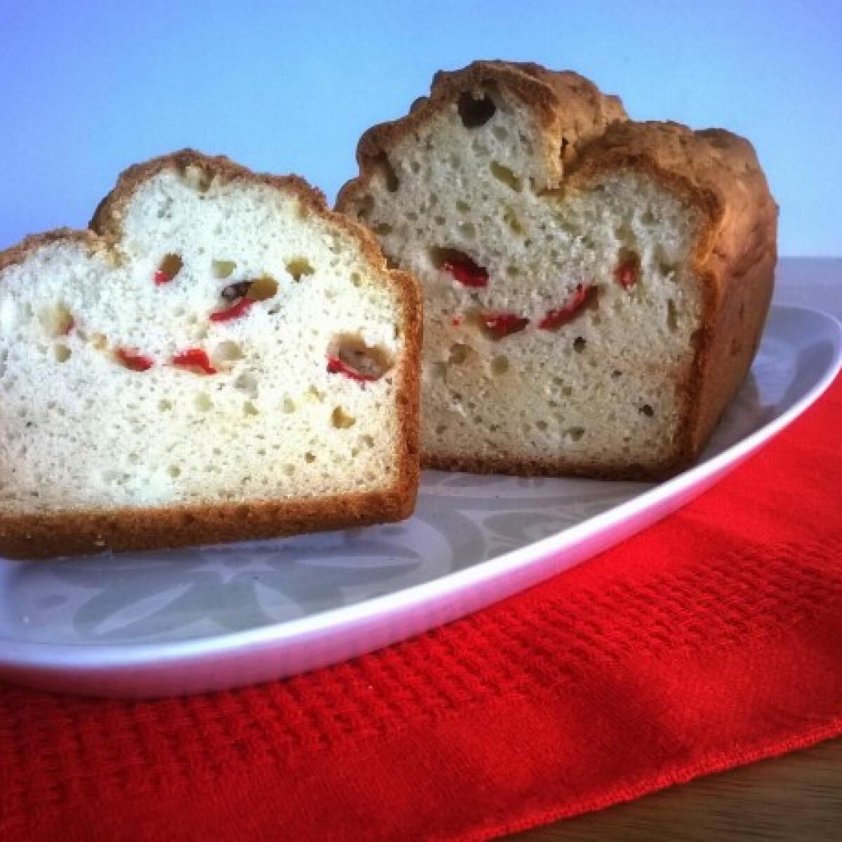 Ezen a képen: Marináltpaprikás kenyér gluténmentesen