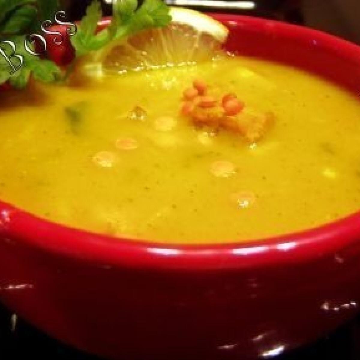 Fűszeres vöröslencse-leves 6.