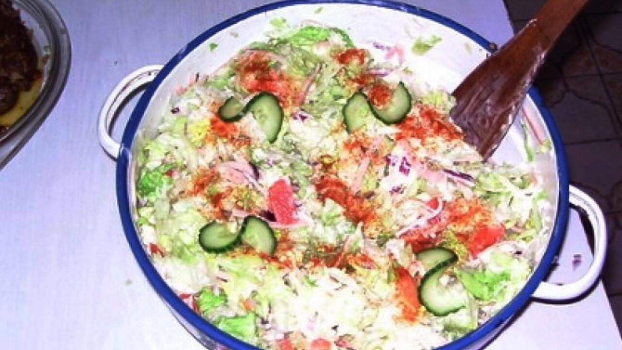 Majonézes fogyis saláta