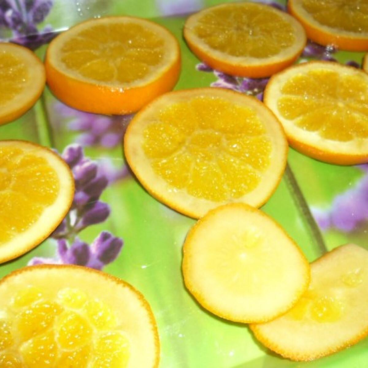 Ezen a képen: Cukrozott narancs