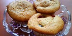 Szilvás muffin 2.- joghurtos